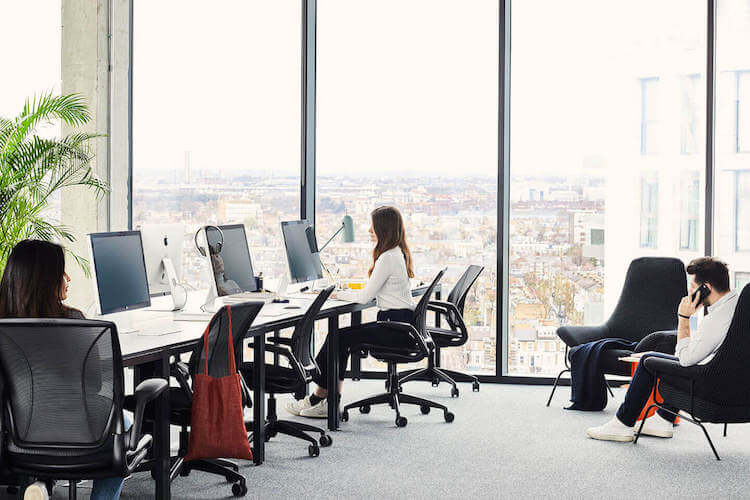 Serviced Office Space at One Lyric Square Hammersmith. Private office for startups and medium size businesses to rent on flexible terms.