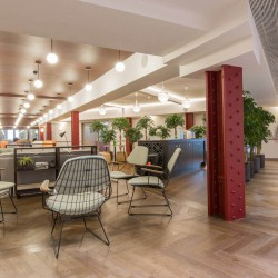 The Office Group Bloomsbury Way building offers office space that provides a relaxed and cultured atmosphere, ideal for businesses to think and create.