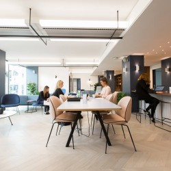 Open planned Co-Working area in Paddington, relaxed and professional atmosphere for companies to enjoy.