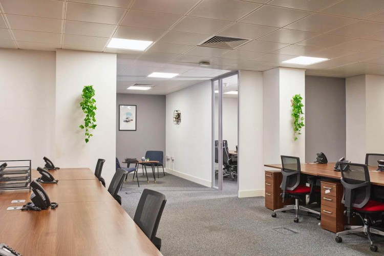 Incspaces. Serviced offices at 107 Leadenhall Street, London. The property enables businesses to rent serviced office space in a private self-contained environment on flexible terms.