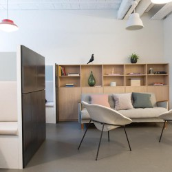 The Office Group location in Lloyds Avenue offers beautiful, professional breakout spaces for members to use.