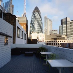 The Office Group provides all-inclusive Serviced Offices at their location in Lloyds avenue and also boasts a stunning roof terrace for clients to use.