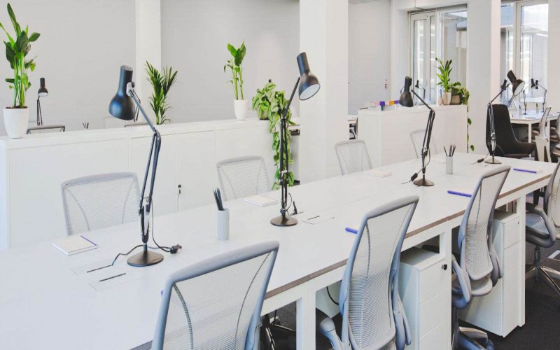 The Office Group provides all-inclusive Serviced Offices to rent at their location in 2 Stephen Street and also boasts a stunning roof terrace for clients to use.