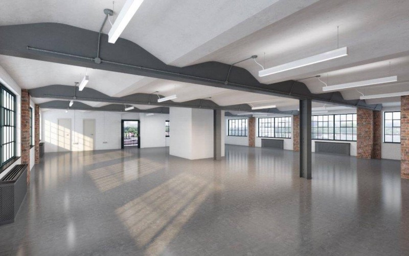 CAT A finish office space in The Embassy Tea House on Union Street. A warehouse style office space in Southwark offering SME's and Corporates self-contained floors.