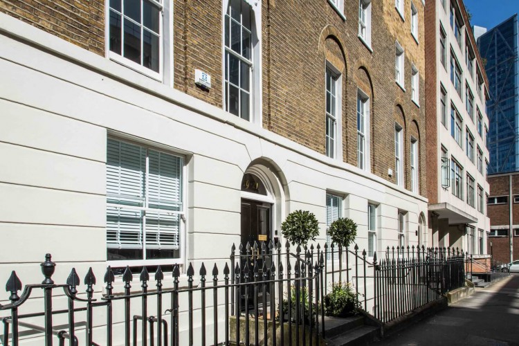 Serviced Office building on Christopher Street, Finsbury Square offering private offices for startups and SMEs to rent on flexible terms.