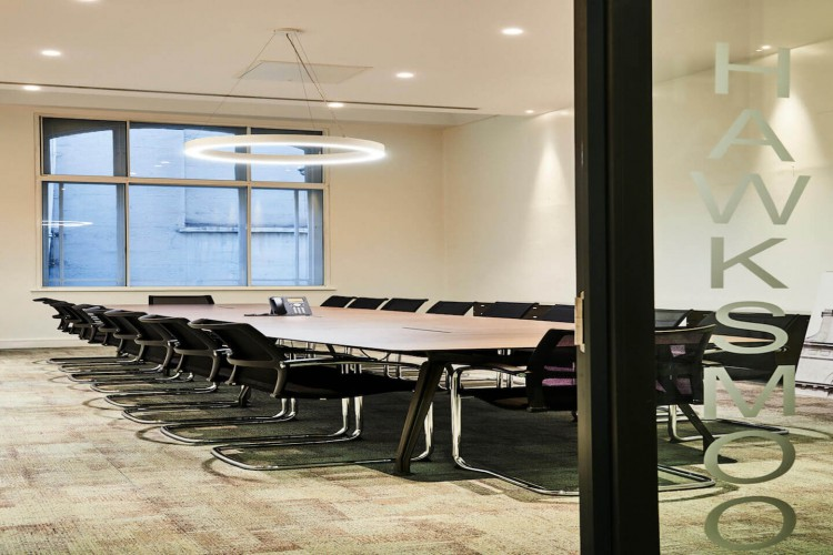 Beaumont Business Centre boasts a modern meeting room at 27 Clements Lane for businesses to meet their clients.