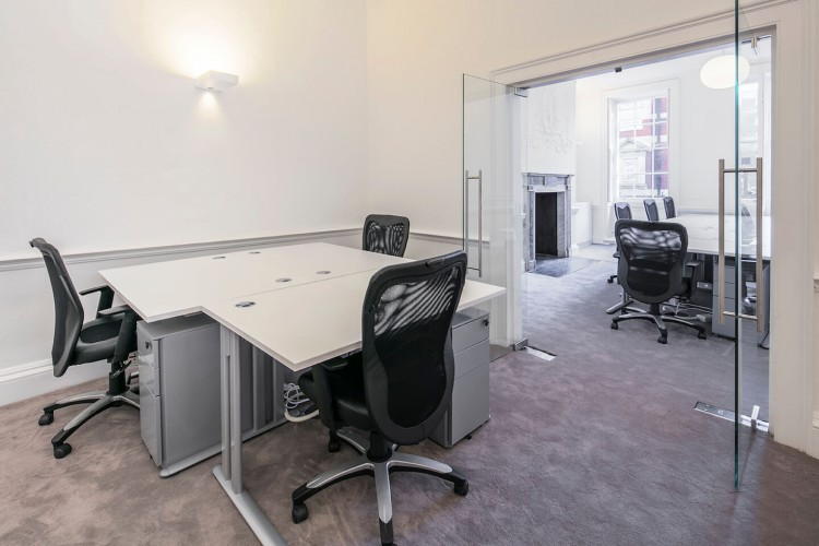 Private serviced office at 11 Golden Square, Soho, London W1F 9JB