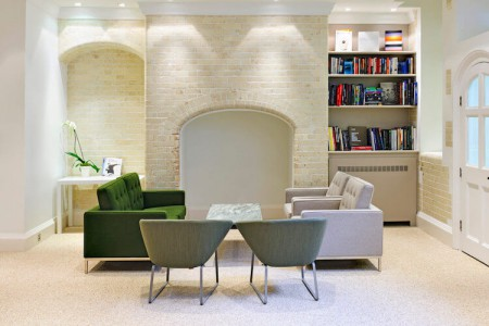 Green Park House Library Sofas Breakout