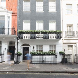Grade II listed building offering serviced office space in Queen Street, Mayfair, London. The workspace is suitable for small to medium businesses in the Financial or Legal sector.