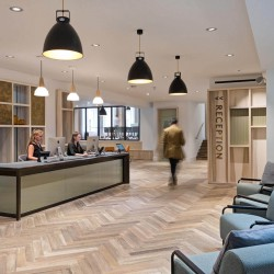 The office space in Wimpole Street has packed five floors with everything you could want from a modern workspace, including lounges, event spaces, co-working, meeting rooms, bicycle racks and one of the best rooftop gardens in London.