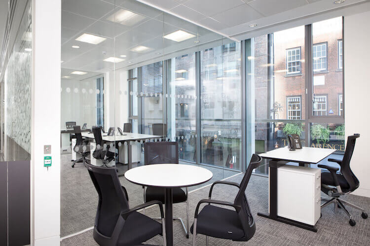 Private, fully furnished office space for rent in Mayfair on Dover Street for businesses who need flexible office space of any size from 10 to 100 desks.