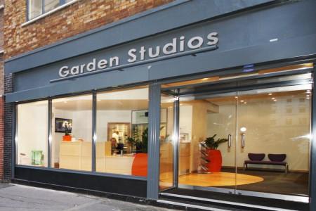 Garden Studios Front Entrance