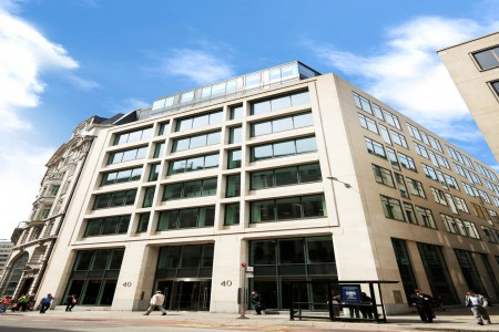Serviced office space in 40 Gracechurch Street offering businesses of all sizes a variety of flexible workspace environments to work in.