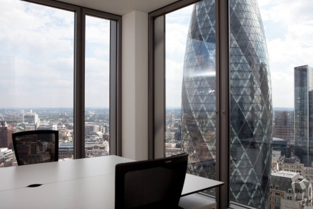 Salesforce Tower Views Of The Gherkin