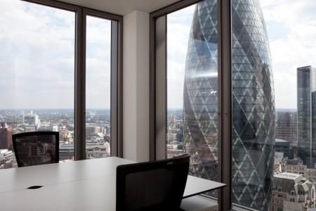 Salesforce Tower Views Of The Gherkin