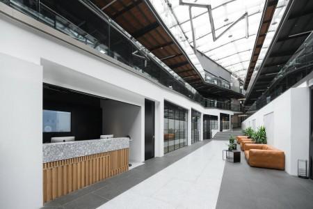 Atrium Camden Building Reception