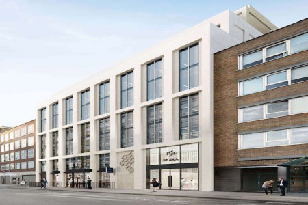 22 Berners Street Fitzrovia is a newly renovated modern building located in the heart of Fitzrovia offering flexible managed office space for teams of 4-100 people.
