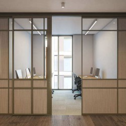 22 Berners Street Fitzrovia hosts five floors of premium, tailored workspace complete with smart meeting rooms, fully-stocked kitchens for businesses to rent on flexible terms.