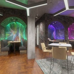 Cutting-edge tech-inspired space at Citybridge House on Southwark Street operated by the flexible office provider One Avenue Group.