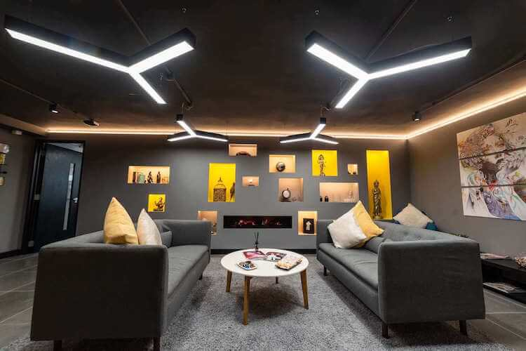 Citybridge House offers stunning lounge and breakout space at One Avenue Group's flexible office building on Southwark street, SE1.