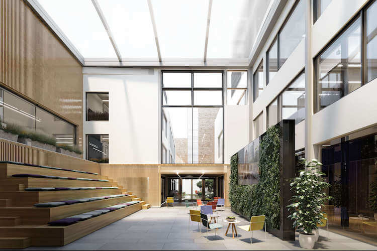 Fora Space location in 35-41 Folgate St, Spitalfields offers businesses event and communal space to rent for client meetings.