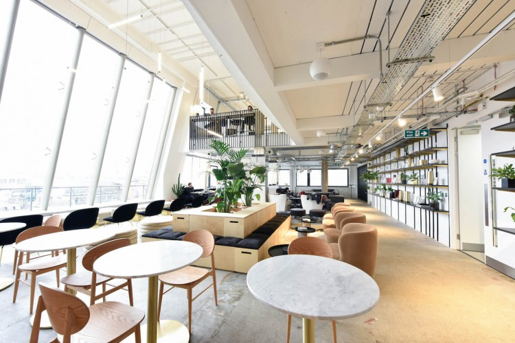 Stunning serviced office space in Bloomsbury Way with an on-site restaurant, bar, event space, panoramic views and a large variety of workspaces for businesses to work from.