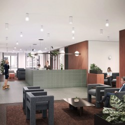 The Office Group provide a professional serviced office reception in One Canada Sq for businesses who occupy offices in this building.