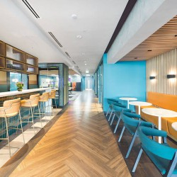Flexible office space building in 2 Portman Street boasts ample collaborative workspace for companies to use for informal meetings or to get away from their office space.