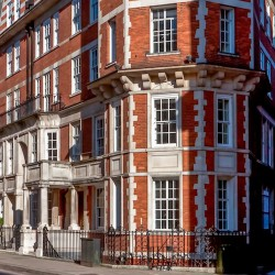42 Brook Street is a prestigious serviced office address in the heart of bustling Mayfair offering businesses luxury office space to rent on flexible terms with access to onsite meeting rooms.