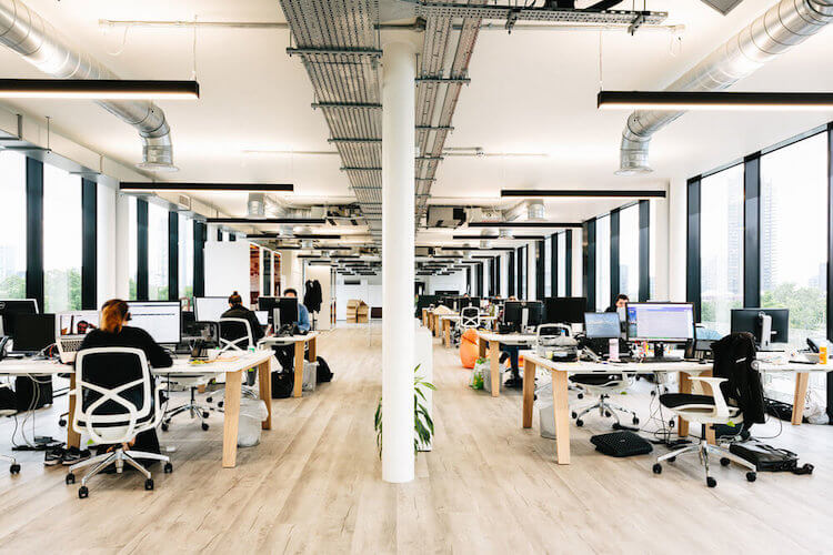 Serviced Offices to rent at Bentima House on Silicon Roundabout, offering self-contained solutions for clients looking to create their own office identity and culture in a private space for 30+ staff.