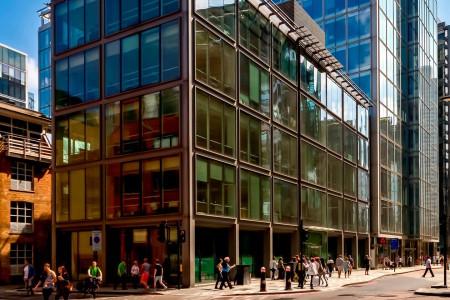 Bishopsgate Building Exterior