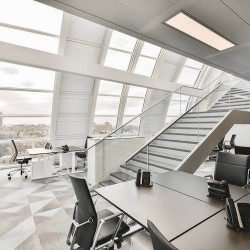 Serviced Offices offering stunning office views across London from a private office space at Park House, Mayfair.