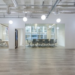 Dedicated meeting room and boardroom space at 43 Worship Street, providing businesses the opportunity to host client meetings within their own demise.