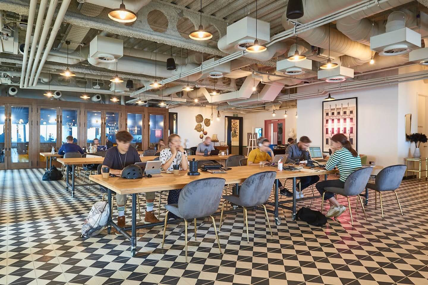Flexible workspace provider Mindspace, offers collaborative co-working space for startups on Appold Street in the heart of Tech City, just a hop away from Silicon Roundabout.