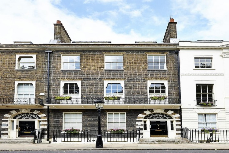 Bedford Square offices are in a garden square in the Bloomsbury district, today most of the houses have been converted to serviced offices for businesses to rent.