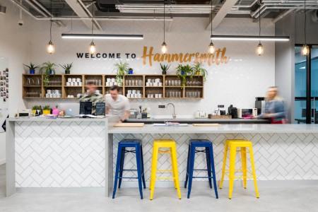 Hammersmith Road Kitchen Dining Area