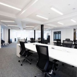 Fully managed office floor at Monmouth House, Shelton Street, Covent Garden. The office space is for businesses who want a large self-contained office to create their own identity.