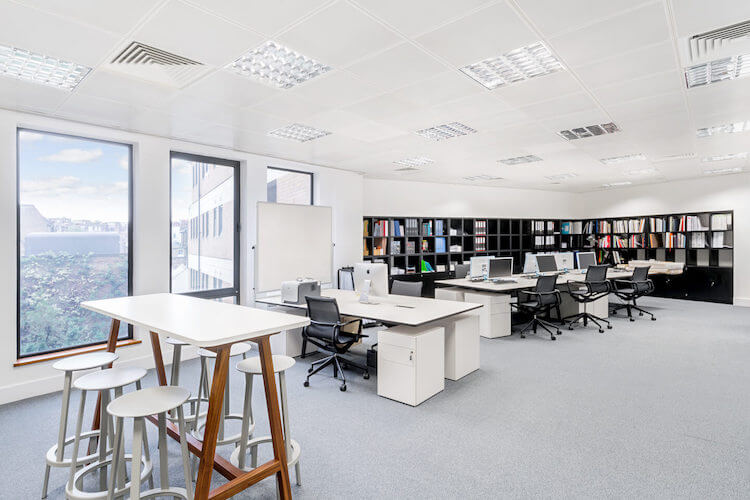 Private office for team of 20 at Sentinel House, Marylebone.