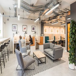 Flexible office space in Tanner Street, Bermondsey offering various workspace environments for businesses of all sizes.