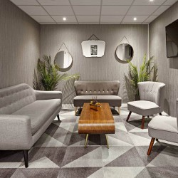 Longcroft House Breakout Area for Serviced Office occupiers