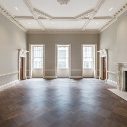 Grade A office space with high ceilings and floods of natural light for rent in St James's Square.