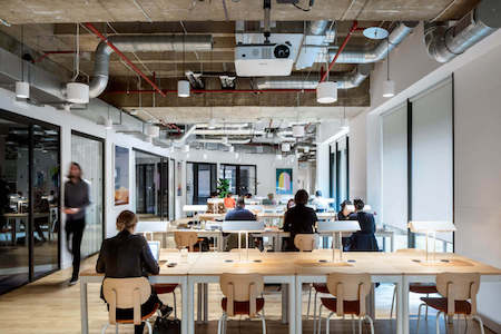 Office Space & Coworking at Devonshire Square. Make your entrepreneurial dreams a reality at Wework's serviced office and coworking space near Liverpool Street.