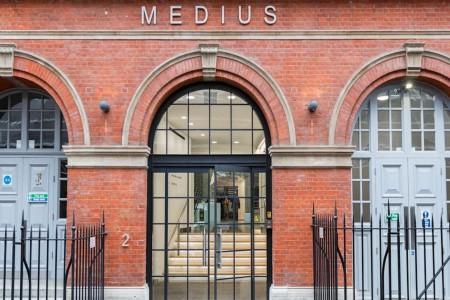 Medius House Building Exterior