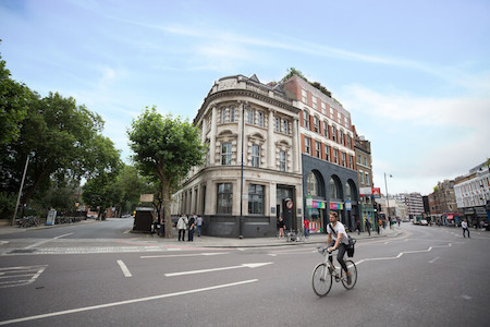 The Space serviced office location at 113 Shoreditch High Street offering office space for rent in Shoreditch on flexible terms.