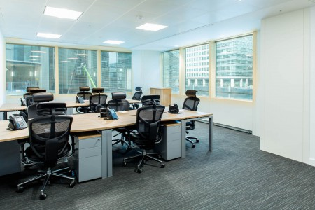 Canary Wharf Serviced Office