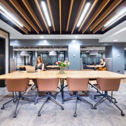 Co-working space at 1 Giltspur Street, Farringdon, London EC1A 9DD. Stunningly designed serviced office building for company's to utilise.