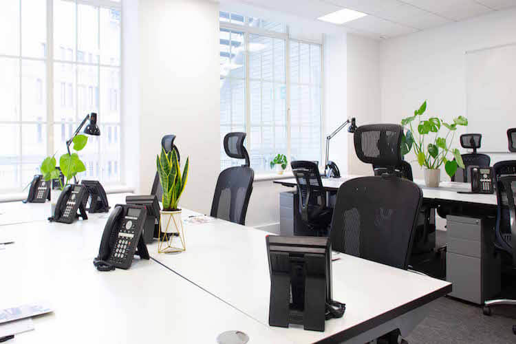 Serviced offices to rent in Mayfair on flexible terms at the Office Space in Town building on Brick Street.