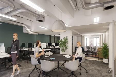 Charlotte Street Managed Office Space