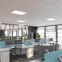 An open plan managed office in Fenchurch Street. The space boasts dedicated meetings rooms, soft seating areas and greenery to accommodate medium and large businesses who require a self-contained office space.