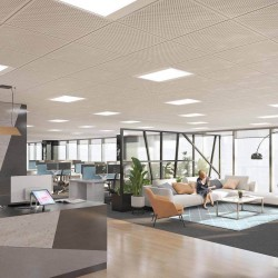 Modern reception area offering a friendly meet and greet service for clients based at the managed office in Fenchurch Street.
